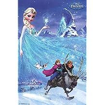"""Trends International Frozen One Sheet 22.375"""" x 34"""" Wall Poster"""