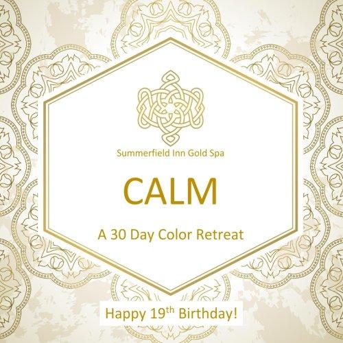 Happy 19th Birthday! CALM A 30 Day Color Retreat: 19th Birthday Gifts for Women in al; 19th Birthday Gifts for Her in al; 19th Birthday Party Supplies ... in al; 19th Birthday Balloons in al