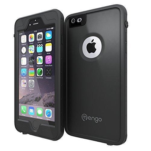 IPhone 6 / 6S Waterproof Case, Mengo Aqua Armor [Ultra-Thin & Light Weight] Shockproof, Dustproof, Waterproof Case for iPhone 6 Black (WILL NOT FIT THE 6/6S PLUS VERISON)