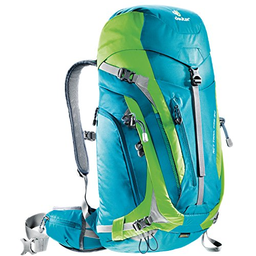 Deuter Act Trail (Deuter ACT Trail Pro 34 - Ultralight 34-Liter Hiking Backpack, Petrol/Kiwi)