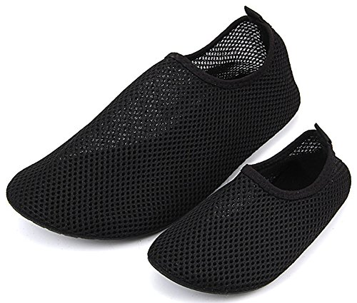 Swimming Black Shoes Kids Skin 37 for Surf 36 for Women Socks Men's Barefoot Aqua Snorkeling Femizee Water qPpt6