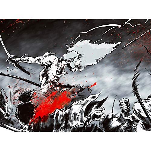 MANGA ANIME AFRO SAMURAI 2 SWORD BLOOD ACTION 18X24'' POSTER ART PRINT LV10026