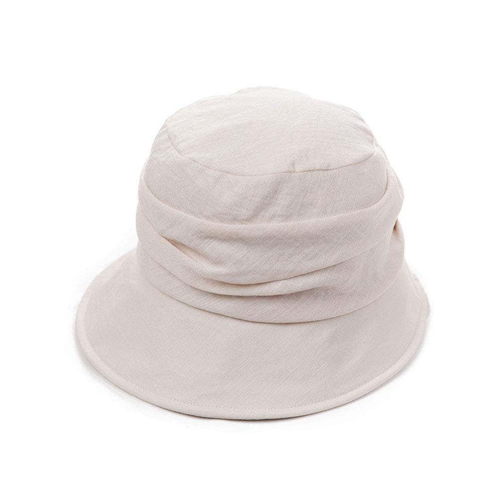 Ylik Womens Fashion Hat UV Sun Bucket Golf Cap Fisherman Hat Pigment Dyed Bucket Hat