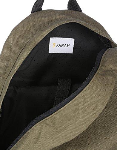 Farah - Bolso al hombro para hombre verde verde