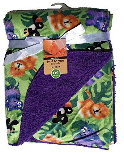 Carter Baby Blanket Colorful Anti Pilling