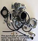 MIKUNI HS40 Carb Easy Kit for Pre-1989 Harley Davidsons- ...