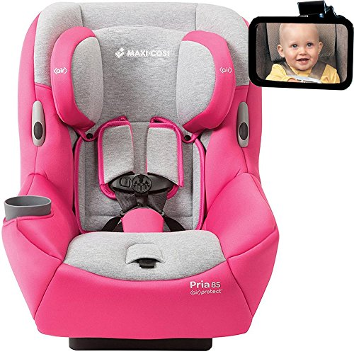Maxi-Cosi - Pria 85 Convertible Car Seat w Back Seat Mirror - Passionate Pink