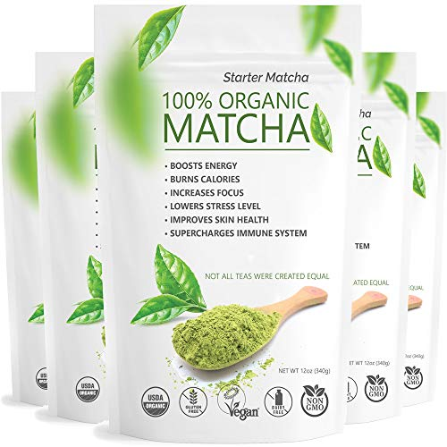 Starter Matcha 5x12oz Organic Natural product image