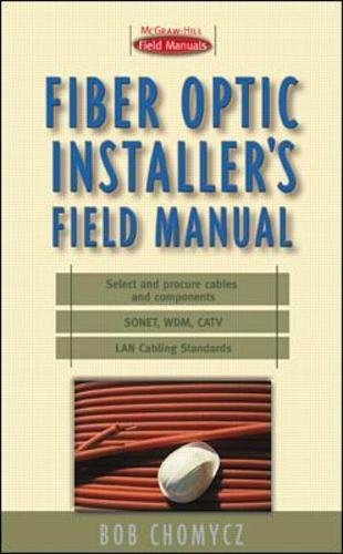 Fiber Optic Installer's Field Manual-cover