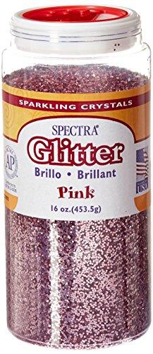 Spectra Glitter, 1 Pound, Pink by Spectra