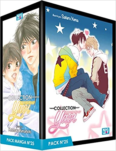 Collection Yaoi Pack N° 25 : 5 mangas (Boys love): Amazon.es ...