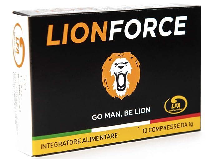 150 opinioni per LIONFORCE- 1000 mg formula ExtraForte- Vigore unico, Effetto immediato, Massima
