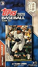 Detroit Tigers 2020 Topps Factory Sealed Special Edition 17 Card Team Set with Miguel Cabrera Plus