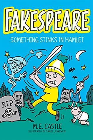 book cover of Something Stinks in Hamlet