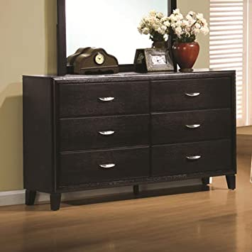 Coaster Home Furnishings 201963 Casual Contemporary Dresser - Espresso