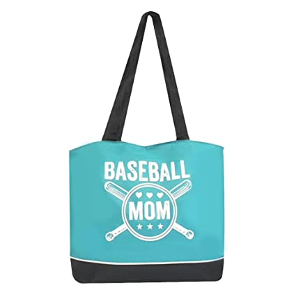 77423a0749ec Amazon.com : Baseball Mom Large Women's Sports Tote Bag : Sports ...