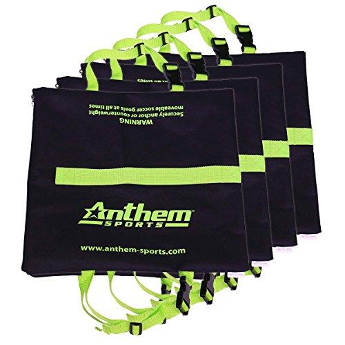 Anthem Sports SGSB-4 Soccer Goal Anchor Sand Bag SET OF 4