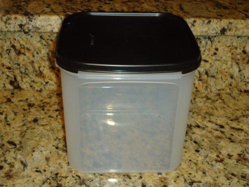 Tupperware Modular Mates Square - Tupperware Modular Mate Square 3 Container Black Seal
