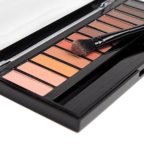 Bellasophy Professional Long Lasting Matte Smooth Waterproof Eyeshadow Palette Powder 12 Colors Makeup by Bellasophy (Image #1)