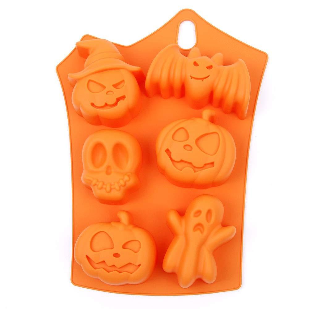 Fête d'Halloween Moule en silicone Fondant Décoration de gâteaux Topper Limitools