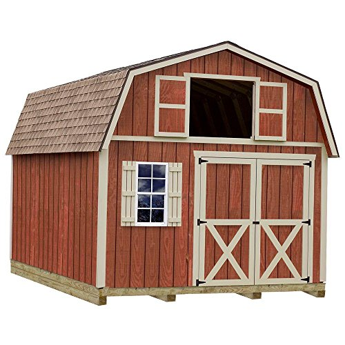Best Barns Millcreek 12' X 16' Wood Shed Kit