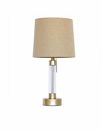 CJSHV-Lámpara de mesa Lampara De Cristal De Lampara De La ...