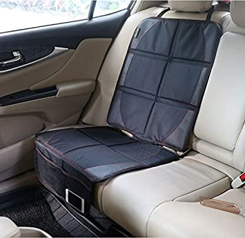 Car Seat Protector >> Baby Car Seat Protector Mat Covers Under Child Seat Leather Saver For Baby Seat