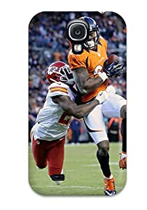Quality JoelNR Case Cover With Denverroncos Nice Appearance Compatible With Galaxy S4