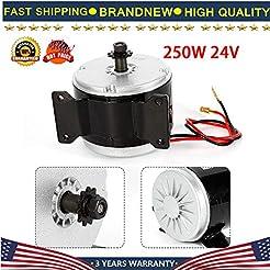 Electric Motor, 250W 24V Electric Brush ...