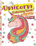 Best Books By Ages - Unicorn Coloring Book for Kids ages 4-8: Cute Review