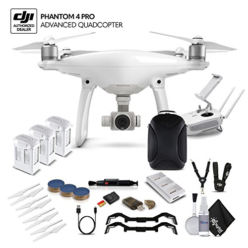 DJI Phantom 4 Advanced (CP.PT.000689) 3 Battery Bundle Review