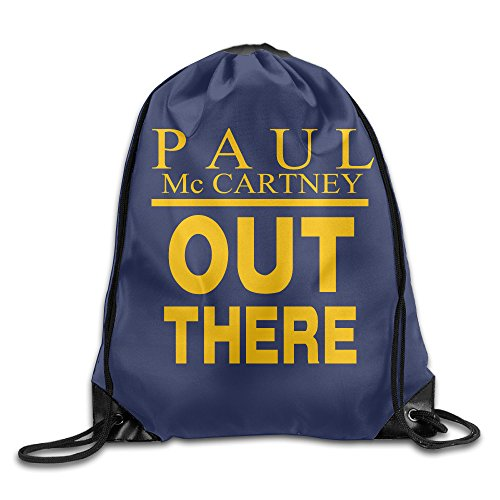 Price comparison product image AK79 Large Capacity Paul Mccartney Out There Cinch Pack White