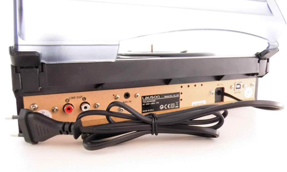 LAUSON CL611 Tocadiscos de Vinilo Vintage con USB, Altavoces ...