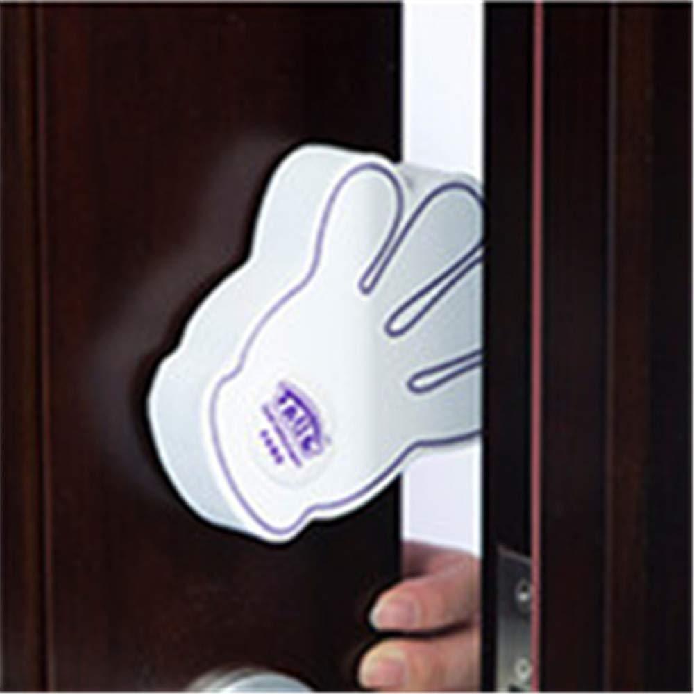 T/ürstopper Finger-Klemmschutz f/ür T/üren Kindersicherung kleine Handform Door Stopper Ohne Bohren 1er Set