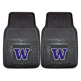 FANMATS NCAA University of Washington Huskies Vinyl Heavy Duty Car Mat