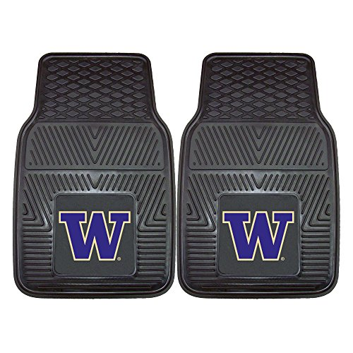 FANMATS NCAA University of Washington Huskies Vinyl Heavy Duty Car Mat
