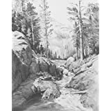 Royal Brush Sketching Made Easy Kit, 9 by 12-Inch, Shadow Lake