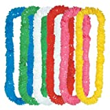Beistle 432-Pack Soft-Twist Poly Leis, 21/4 by 36-Inch