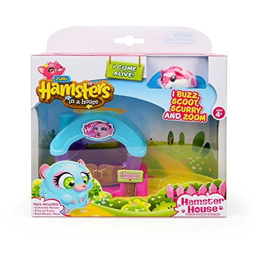 Zuru Hamsters in a House - Little House Playset - Sprinkles (Hamsters In A House Playset Ultimate House)