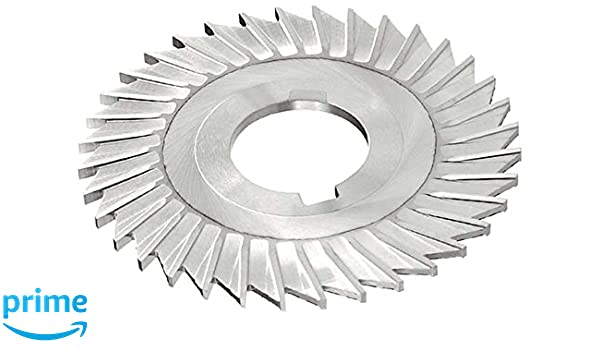 4 Cutting Diameter Standard Cut KEO Milling 08433 Slitting Saw TiN Coating 36 Teeth 7//64 Width Straight Side Tooth,MT Style HSS 1 Arbor Hole