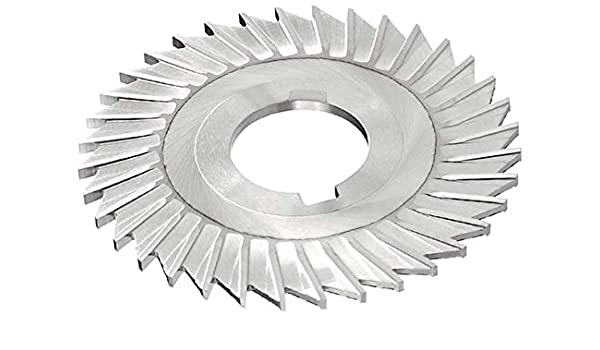 6 Cutting Diameter 42 Teeth HSS Uncoated Coating 1//16 Width 1 Arbor Hole Straight Side Tooth,MT Style Standard Cut KEO Milling 08680 Slitting Saw