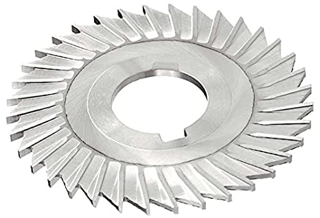 Uncoated Coating HSS KEO Milling 08810 Slitting Saw Straight Side Tooth,MT Style 6 Cutting Diameter Standard Cut 1//4 Width 42 Teeth 1-1//4 Arbor Hole