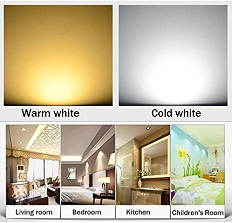 Pack of 10,Pocketman 3W 300 lumens 3.4 Inch LED COB Energy Saving Recessed Ceiling Downlight kit With LED Driver Cool White,6300-7000K