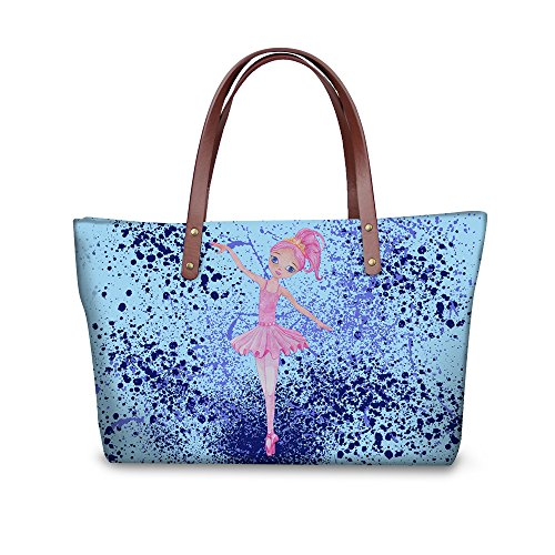 Handle Tote FancyPrint Shopping Bages Top Handbags Dfgcc1860al Women Satchel 5rrXHwxqd