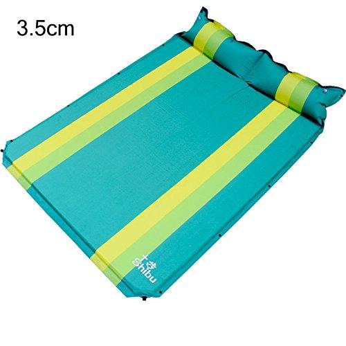GYP 自動インフレータブルベッドSuvクッションベッド、折りたたみポータブルアウトドアカーNAPマットレス旅行寝台マットレジャーバケーションキャンプ防湿パッド3.5cm厚い ( 色 : #5 ) B077X99T3V #5 #5