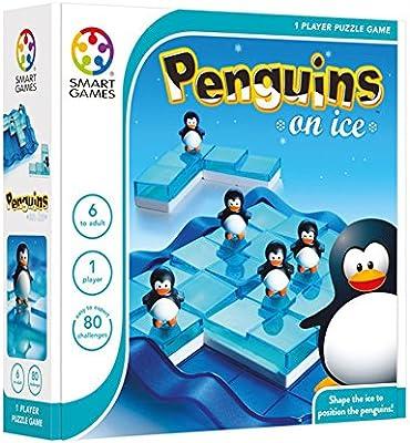 Smart - Pingüinos sobre hielo, juego de ingenio con retos (51520 ...
