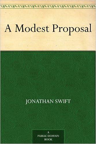 A Modest Proposal help?