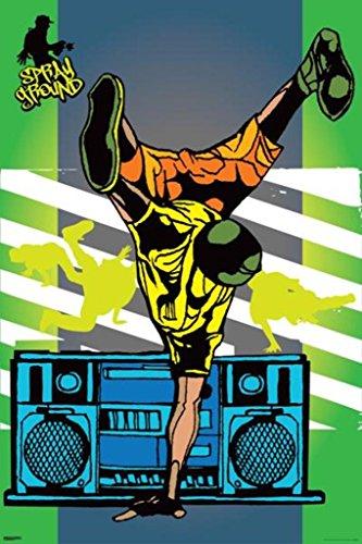 Pyramid America Sprayground B Boy Poster 24x36 inch