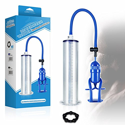 Men Male Penis Vacuum Pump Exercise Air Enlarger Enlargement Bigger Sleeve Growth Enhancer Extender Prolong Enhancer Penisgrowth Pump Penisextender Length Device for Men