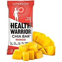 15-Pack Health Warrior 13.2-Ounce Mango Chia Bars